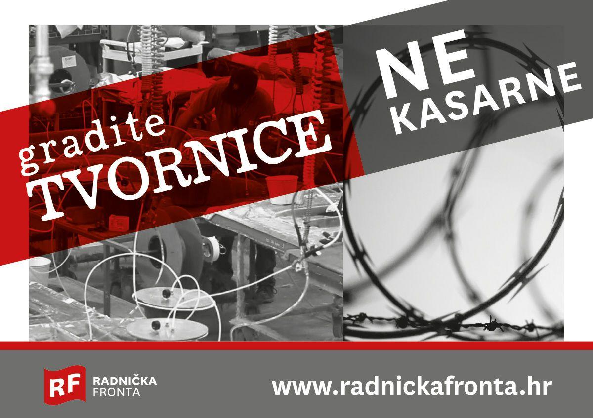 Foto: Facebook/Radnička fronta