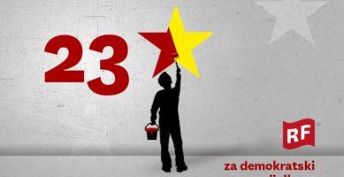 Podrška listi Radnička fronta-SRP na izborima za EP